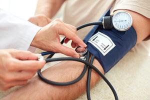 How does coleus forskohlii effects blood pressure?